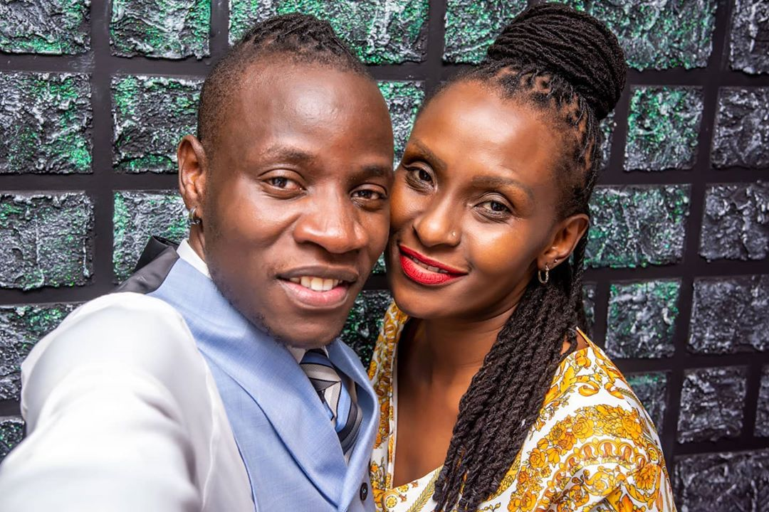 Gospel singer Guardian Angel showers fiancée Esther Musila with praise, happy he didn't lose her