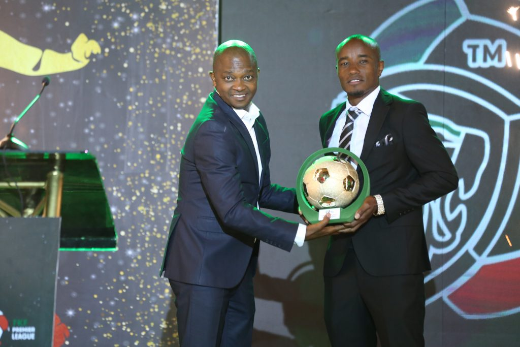 Kariobangi Sharks striker Eric Kapaito wins 2020/21 FKF Premier League Most Valuable Player