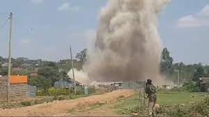 Panic! After a Huge And Mysterious Explosion Hits Narok County